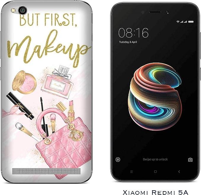 Funda Redmi 5A Carcasa Xiaomi Redmi 5A amo el maquillaje antes del ...