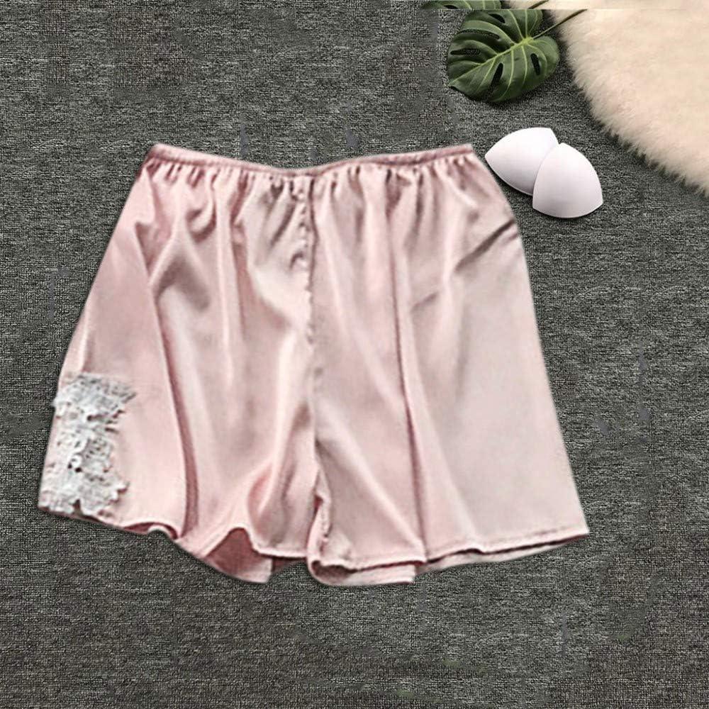 Handaxian Pijama de Encaje Corto para Mujer Nueva y cómoda ...