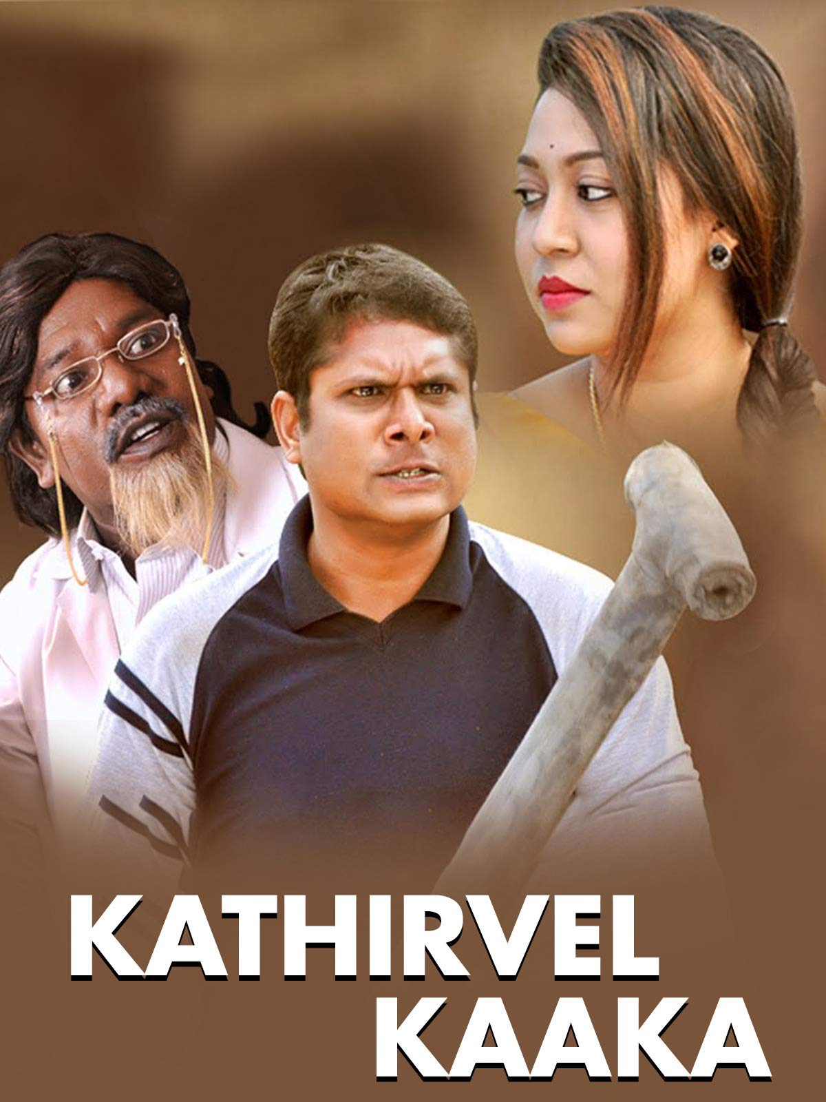 Veera The Power (Kathirvel Kakka) 2019 Hindi Dubbed 350MB HDRip 480p Free Download