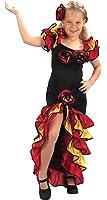 Rumba fille - enfants Costume de déguisement - Grand - 134cm à 146cm