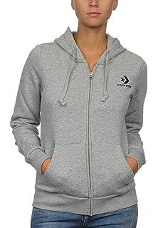 2290b796c780 Converse Women s Core Full Zip Hoodie  Amazon.co.uk  Sports   Outdoors