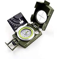 AOFAR AF-4074 Militaire Lensatische Waarnemingskompas-Multifunctioneel, Fluorescerend, Waterdicht en Schudbestendig met…