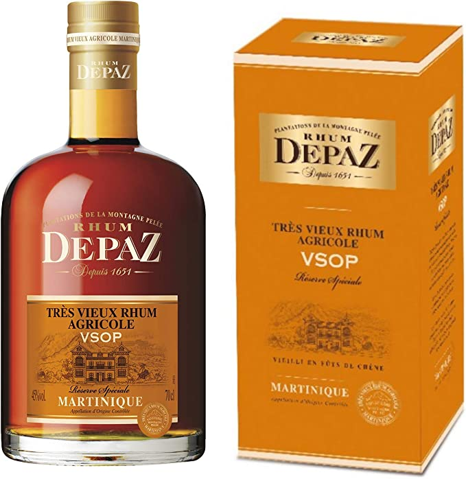 Distillerie Depaz - Reserva Exclusiva VSOP 7 años - En ron ...