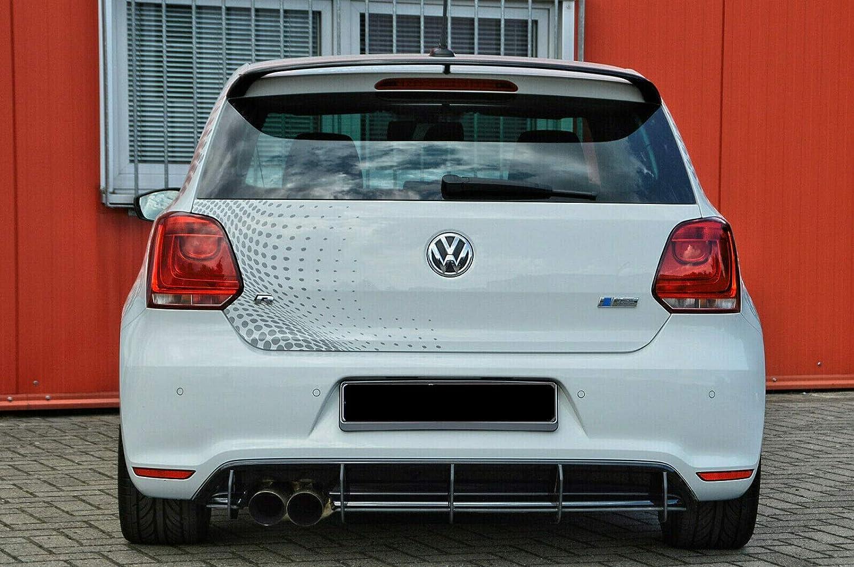 Juego de difusor para Polo WRC 6R GTI R Line, faldón trasero IN ...