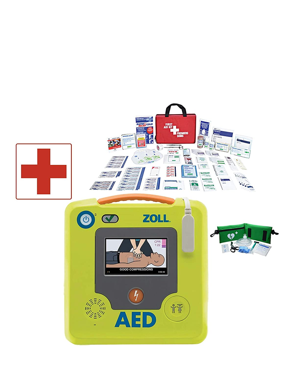 ZOLL AED 3 Defibrillator with Servoxy Fast Response Deluxe