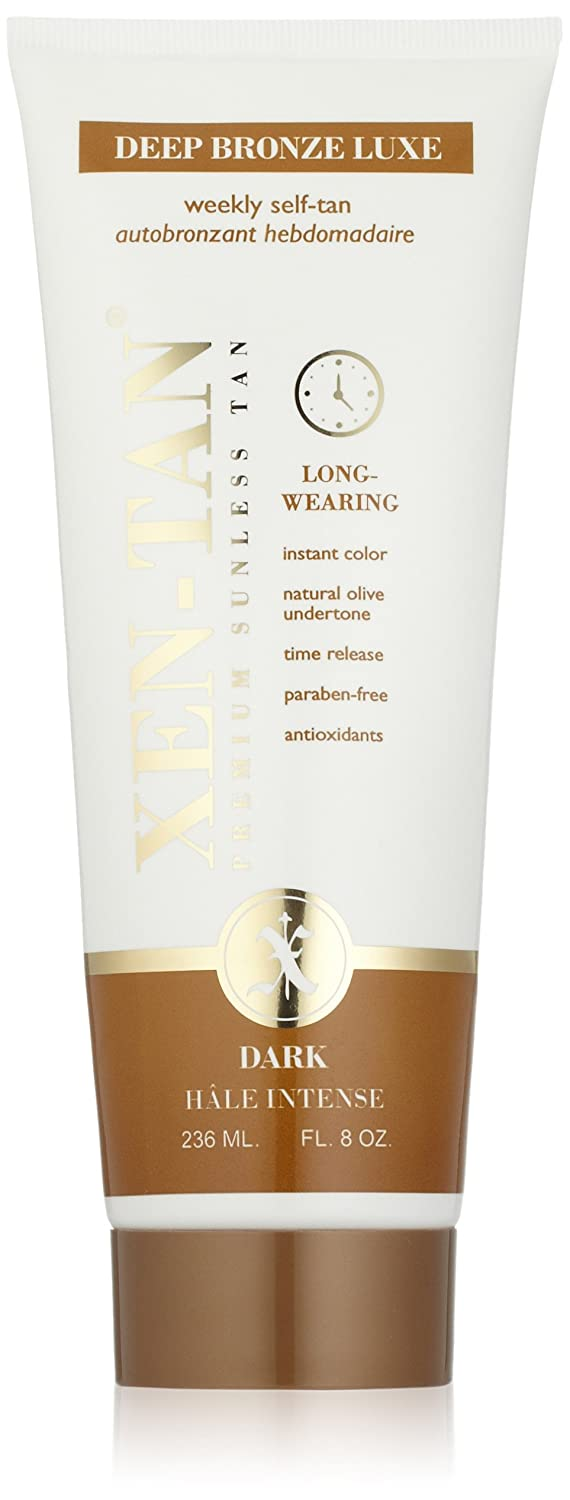 Xen-Tan Deep Bronze LUXE – A Premium Sunless Long Wearing Tan with Instant Sheer Color – 236ml