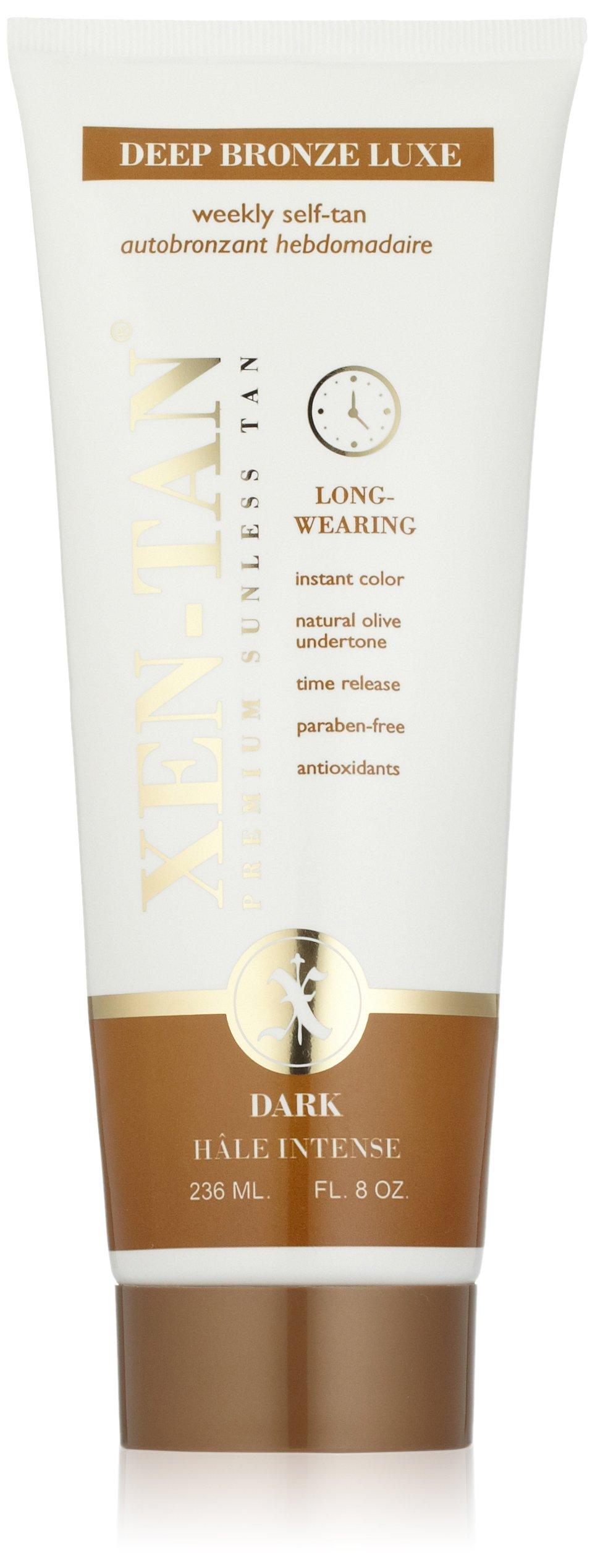 XEN-TAN Deep Bronze Luxe Weekly Tan, 8 Fl Oz