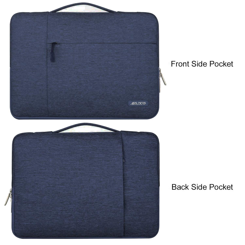 Violeta Claro Poli/éster Funda Protectora Multifuncional Bolso MOSISO Malet/ín Compatible 13-13.3 Pulgadas MacBook Pro Retina//MacBook Air//Surface Laptop 2 2018 2017//Surface Book 2//1