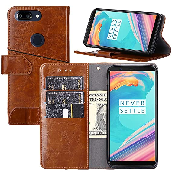 the latest 289bb d7a7b Amazon.com: OnePlus 5T Case, OnePlus 5T Wallet Case,Wallet Case for ...