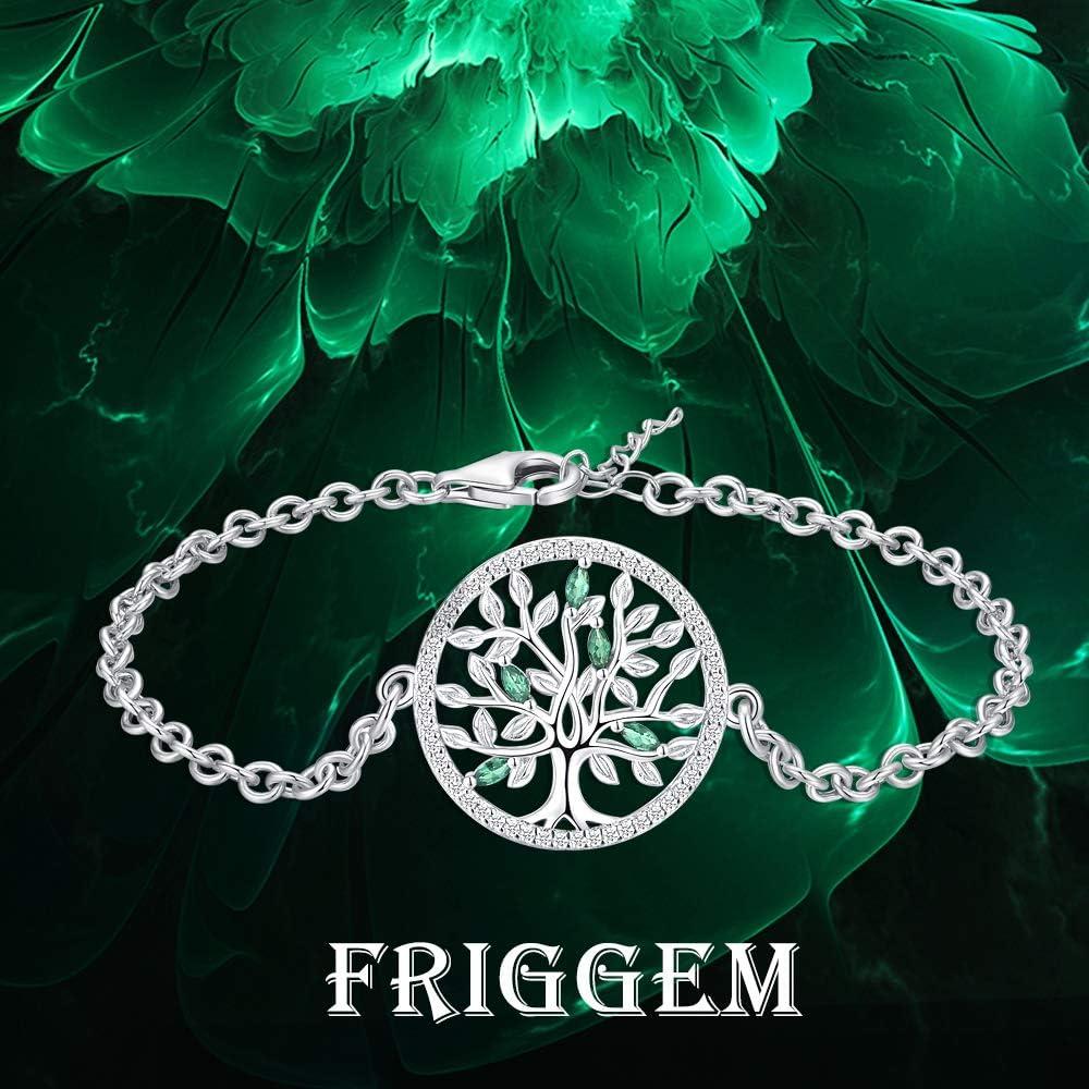 Tree of Life Bracelet\u2022Adjustable Bangle Bracelet Tree of Life\u2022Mother of the Bride Mother of the Groom Tree of Life Bracelet\u2022Birthstone Charm