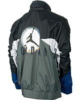 Jordan VIII Remixed Men's Jacket Black/Flint Grey/White 534763-010