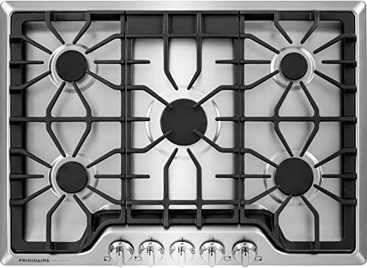 Amazon.com: Frigidaire FGGC3047QS Anafe de acero inoxidable ...