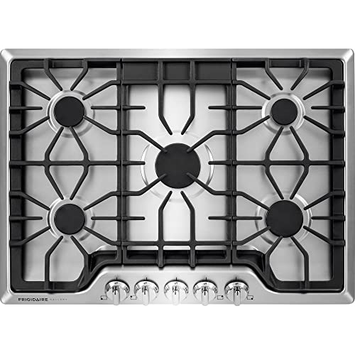 frigidaire gallery 30u2033 stainless steel gas cooktop review