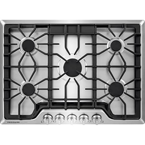 30 gas cooktop. Wonderful Cooktop Frigidaire FGGC3047QS Gallery 30 Gas Cooktop In Stainless Steel And O
