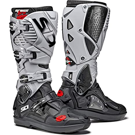 professionale design di qualità la più grande selezione del 2019 SIDI Crossfire 2 SRS - Stivali da Motocross 41, Colore: Nero ...
