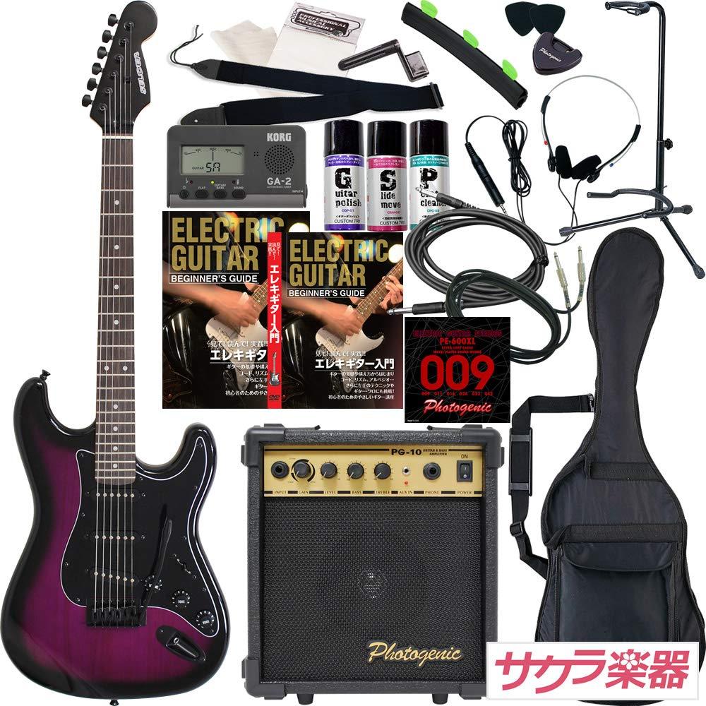 1着でも送料無料 SELDER BPP セルダー エレキギター セルダー ストラトキャスタータイプ B07KK7CZK1 サクラ楽器オリジナル ST-16/BPP 初心者入門20点セット BPP B07KK7CZK1, ファブリックプランナー:7003e2cc --- suprjadki.eu