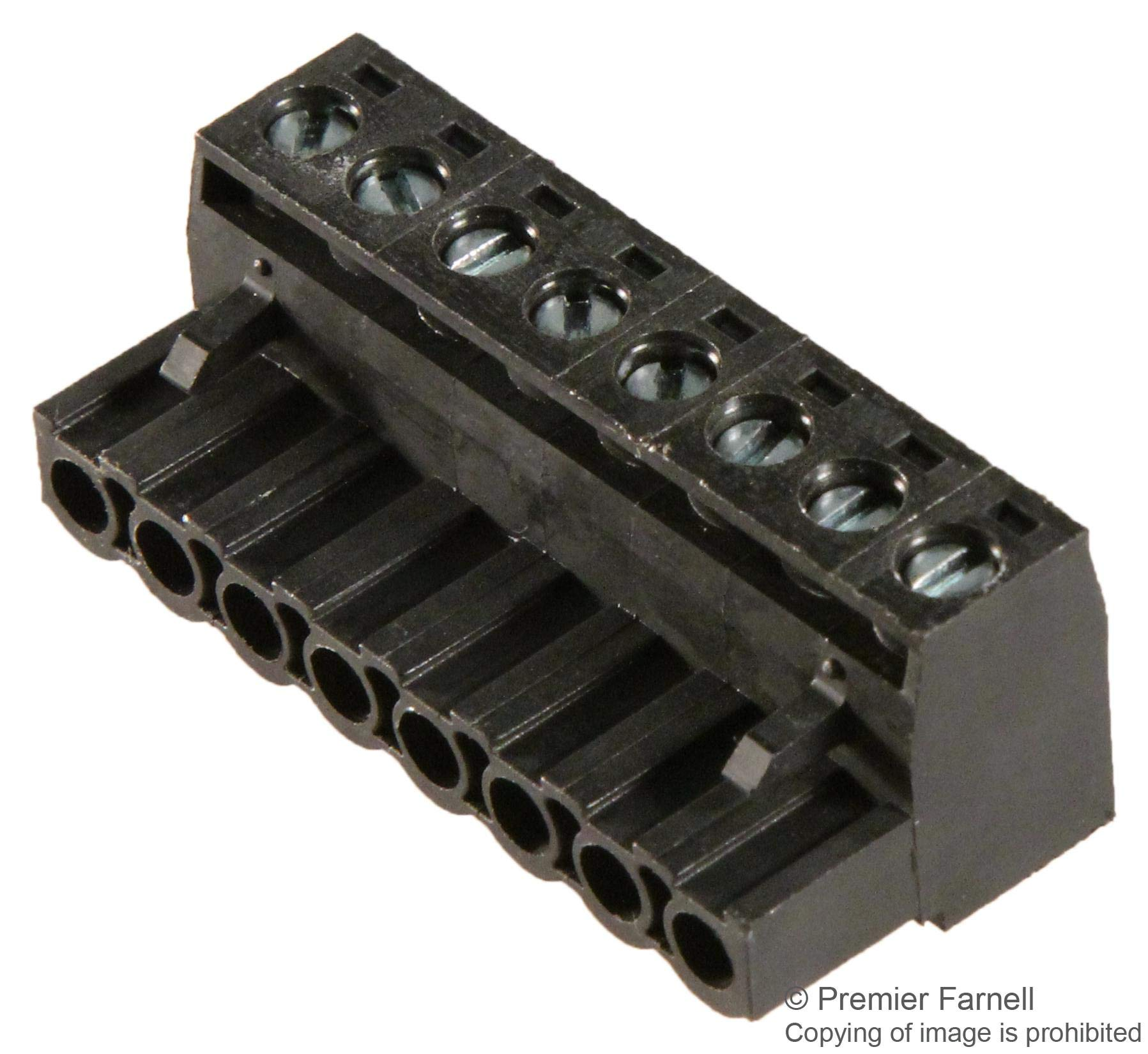 39530-0008 - Pluggable Terminal Block, Eurostyle, 5.08 mm, 8 Positions, 26 AWG, 12 AWG, 3.31 mm², Screw, (Pack of 10)