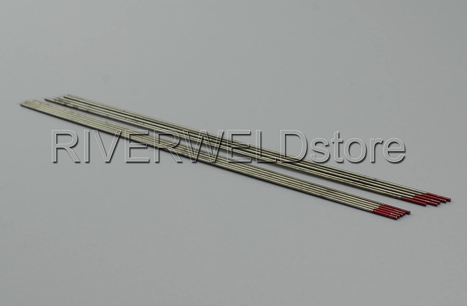 2 percent Thoriated WT20 Red TIG Welding Tungsten Electrode 1.0mm x 150mm 10PK