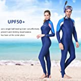 "A Point Full Body Wetsuit, Lycra UV Protection Dive Skin Suit for Scuba Diving for Women (TagL(Ht:5.0-5.2"",Wt:120-140lb), women't"