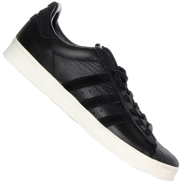san francisco a2e1e 4a986 Adidas Superstar Vulc Adv nero scarpe scarpe scarpe da ginnastica - Scarpe  Da Ginnastica Nere In Pelle B01MRSWTP7 38.5 EU Core nero-core nero-chalk  bianca ...