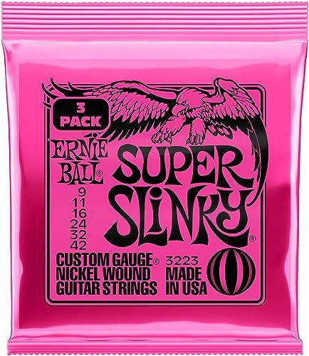 Ernie Ball Super Slinky Nickel Wound Sets