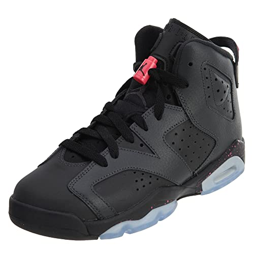 3d6e874e5fe AIR JORDAN 6 RETRO GG Girls Sneakers 543390-008 Anthracite/Black-black 6 M  US Big Kid: Buy Online at Low Prices in India - Amazon.in