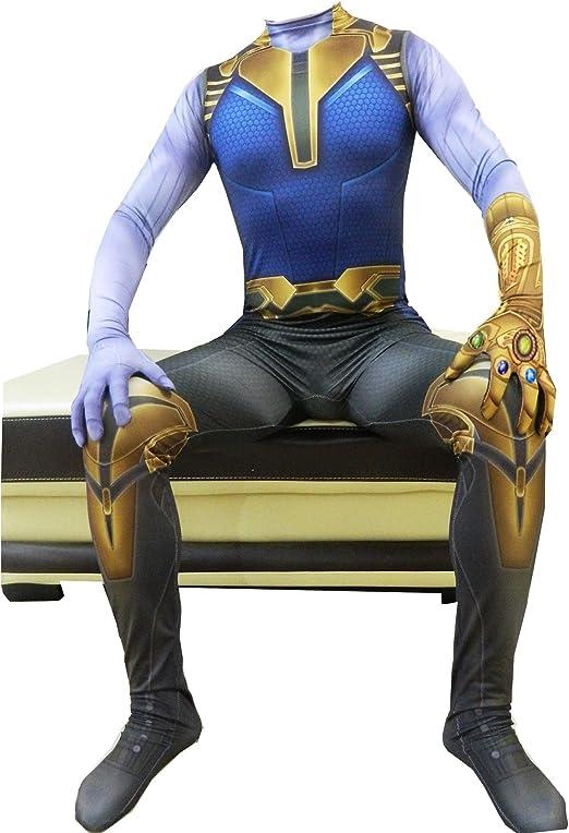 werty Cosplay Ropa Vengadores 4 Medias Thanos Cosplay Disfraz ...