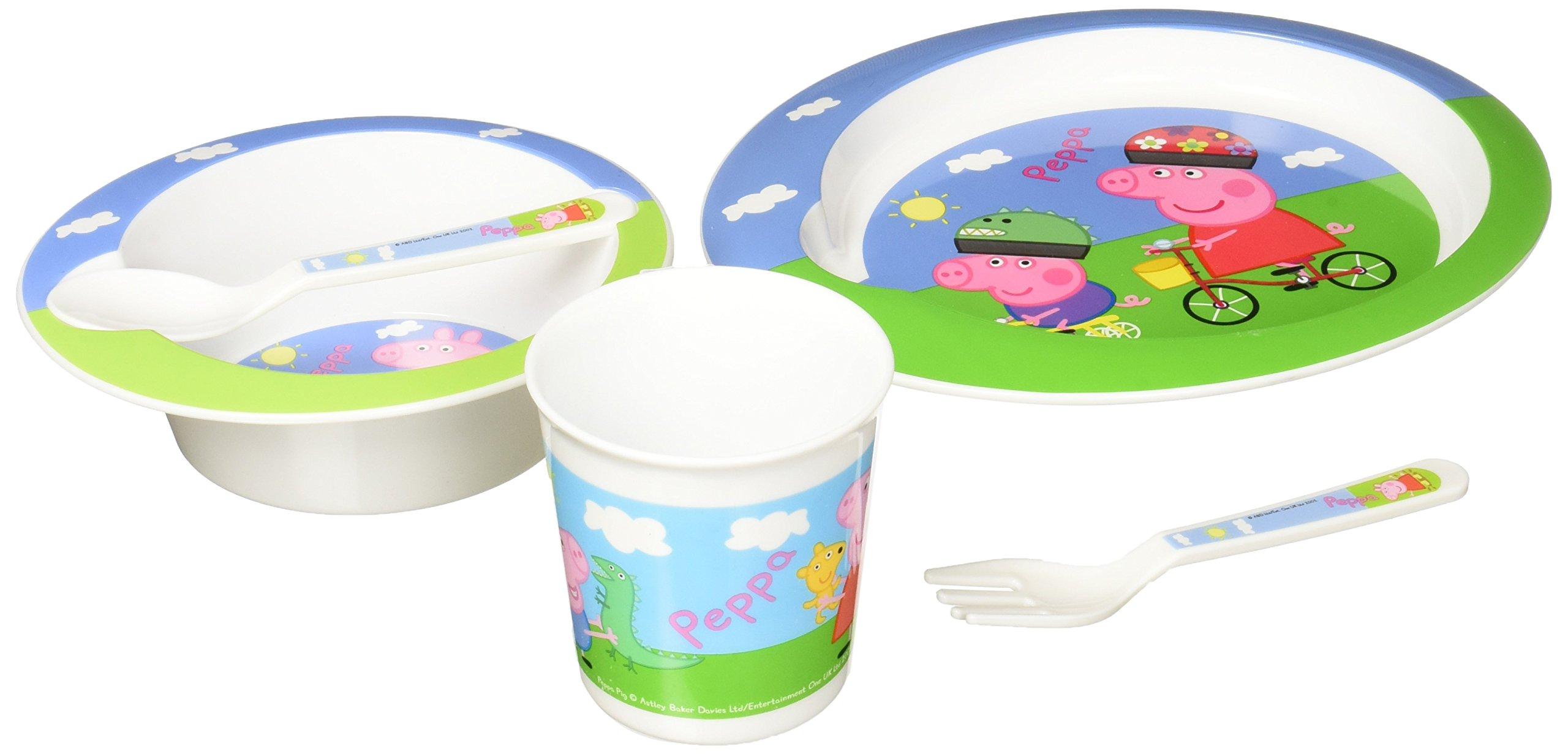 Peppa Pig - Set Vajilla para microondas 5 piezas rosa product image