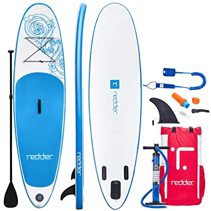 redder Tablas Paddle Surf Hinchables Vortex (Pro) 10 All Round Tabla Stand Up Paddle - Kit con Inflador De Mano De Doble Acción, Pala Ajustable 3 ...