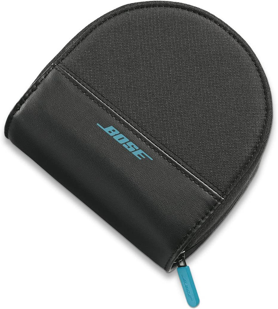 White Bose Sound Link On-Ear Bluetooth Headphones Carry Case