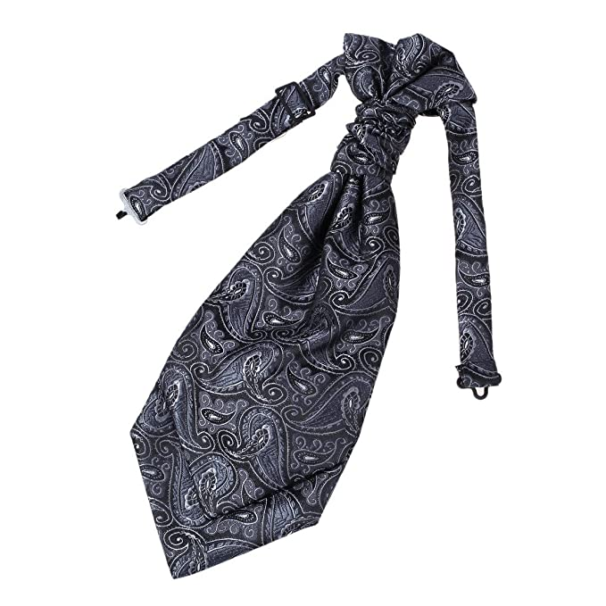 Edwardian Men's Neckties  Ascot Fashion Microfiber Best Gift By Epoint $9.99 AT vintagedancer.com