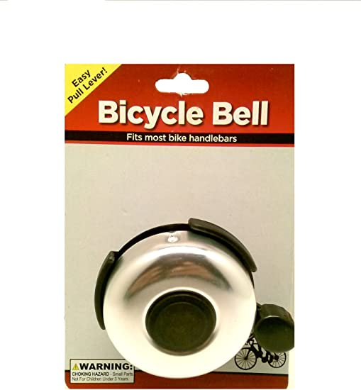 Bicycle Bell Easy Pull Lever Fits Most Bicycles