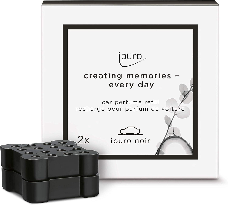 Ipuro Autoduft Noir Hochwertiger Duft Für Ihr Auto Aroma Mit Orientalischer Wirkung Kompatibel Mit Dem Ipuro Car Clip Automatische Verteilung Durch Die Lüftung Drogerie Körperpflege