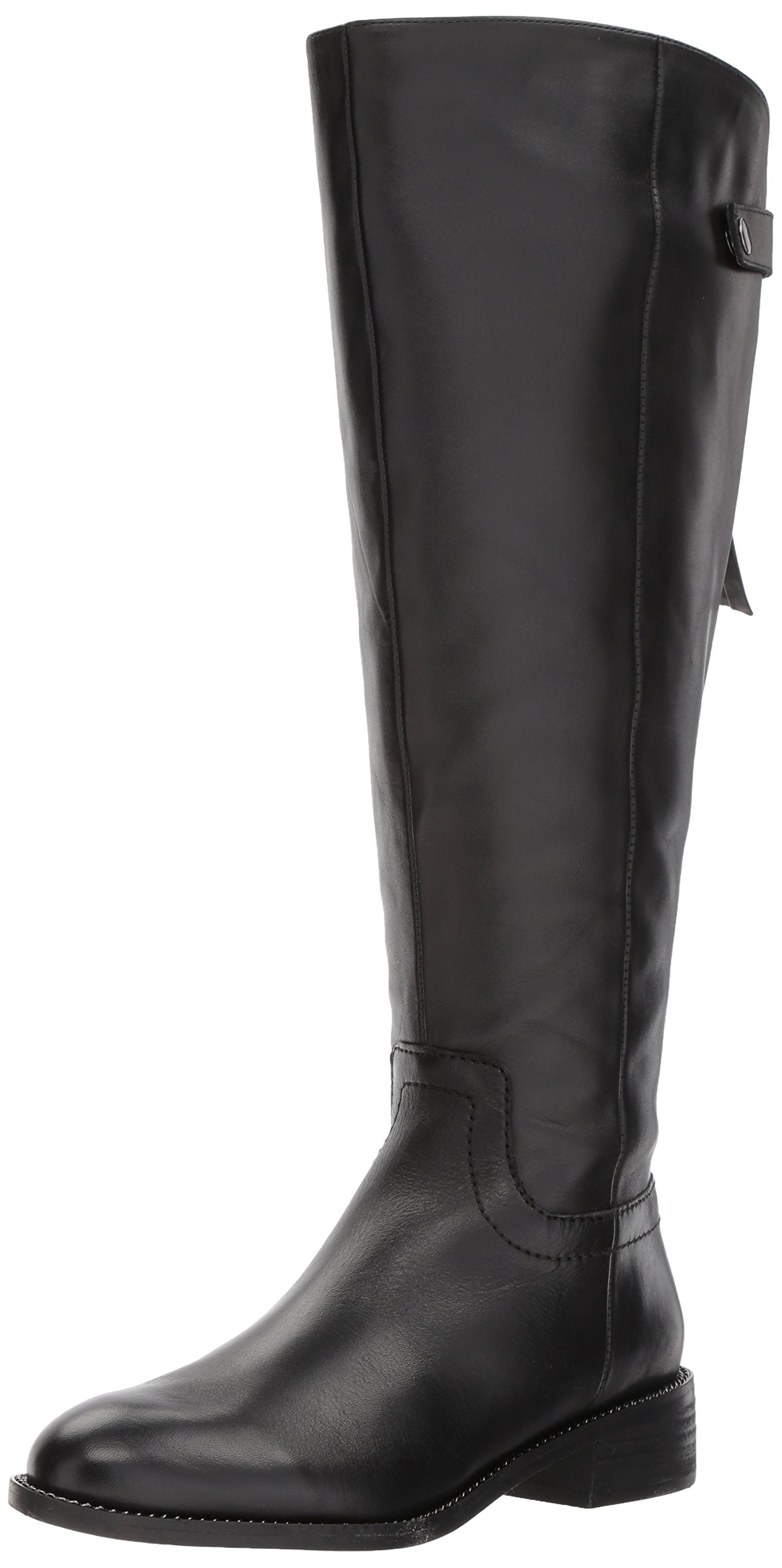 Franco Sarto Women's Brindley Wide Calf Boot, Black, 8 M US by Franco Sarto (Image #1)