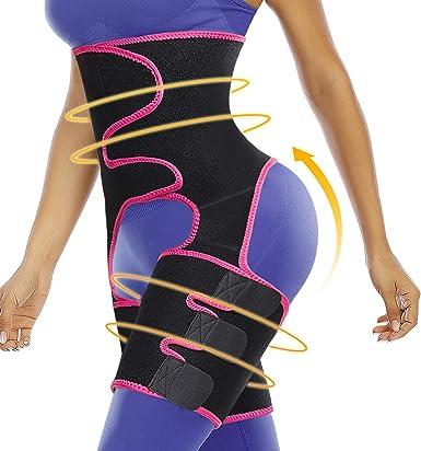 Fitness Butt Lift Sweat Shapewear Band Slimming Waist Trainer Support Belt