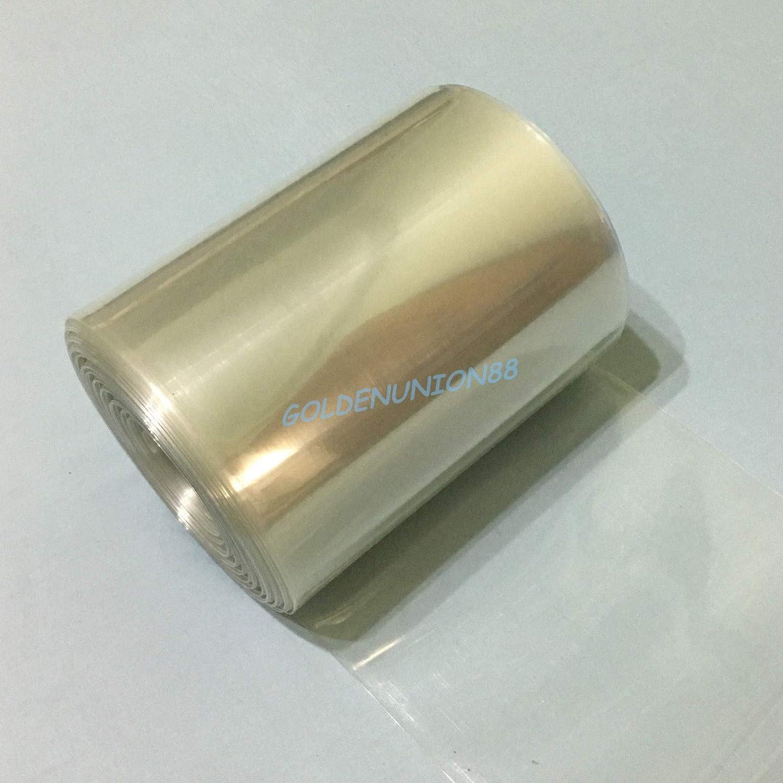 FidgetGear 160/mm de Large en PVC thermor/étractable /Φ102/mm Diam/ètre Tube de R/étr/écissement Batterie Wrap