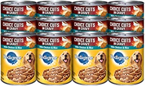 Pedigree 24 Piece Cut Chicken And Rice Pet Food, 13.2 Oz (Pack Of 12)