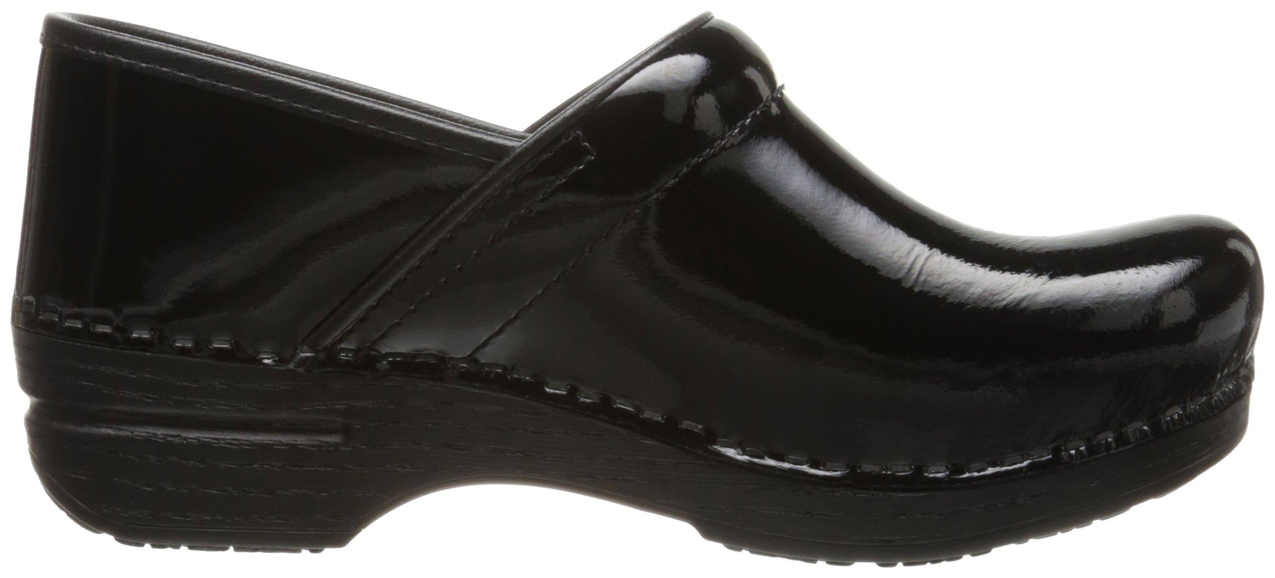 Dansko Women's Pro XP Mule,  Black Patent, 38 EU/7.5-8 M US by Dansko (Image #8)