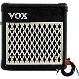"VOX MINI5 Rhythm 5-Watt 1-Channel 1 x 6.5"" Guitar Combo Amplifier w/Effects + Cable"