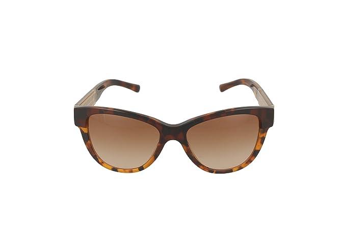 Burberry Womens 0BE4206 355913 Sunglasses, Top Dark Havana/Light Havana/Browngradient, 55 Burberry