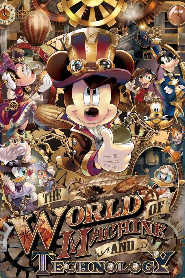 ディズニー ミッキーのメカニカルワールド iPhone(640×960)壁紙 画像58386 スマポ
