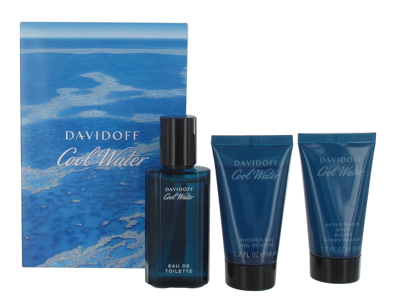 Davidoff Cool Water EDT Spray 40 ml/Shower Gel 50 ml/Aftershave Balm 50 ml 19967