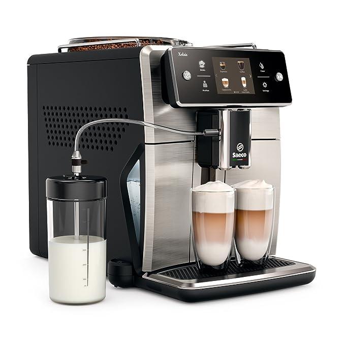 Saeco sm7683/00 Xelsis - Cafetera automática, innovadora pantalla ...