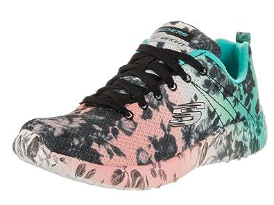 7a7e5cbbafb2 Skechers Women s Burst Wild Rose Sneaker