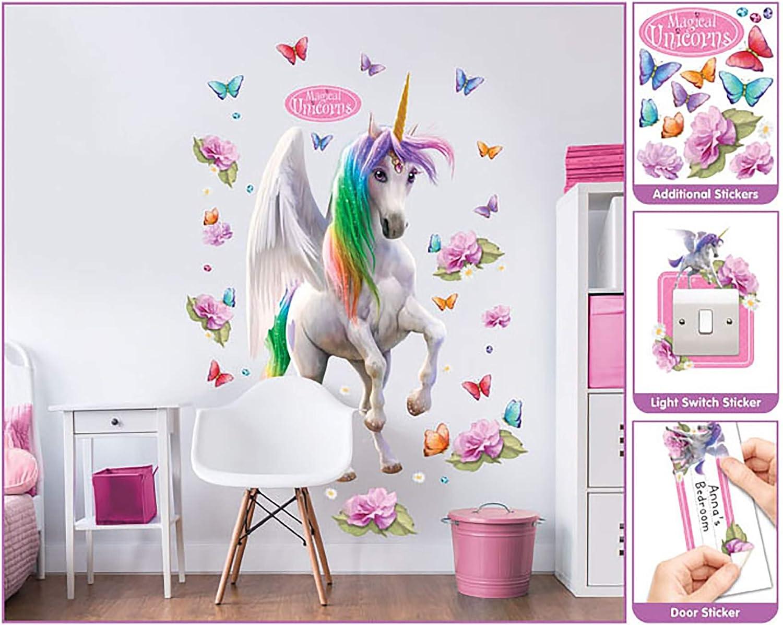 122 cm Walltastic 45996 Wall Stickers Vinyle Multicolore