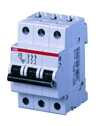 ABB S203-B16 - Instalación de fusible para caja de fusibles (16A ...
