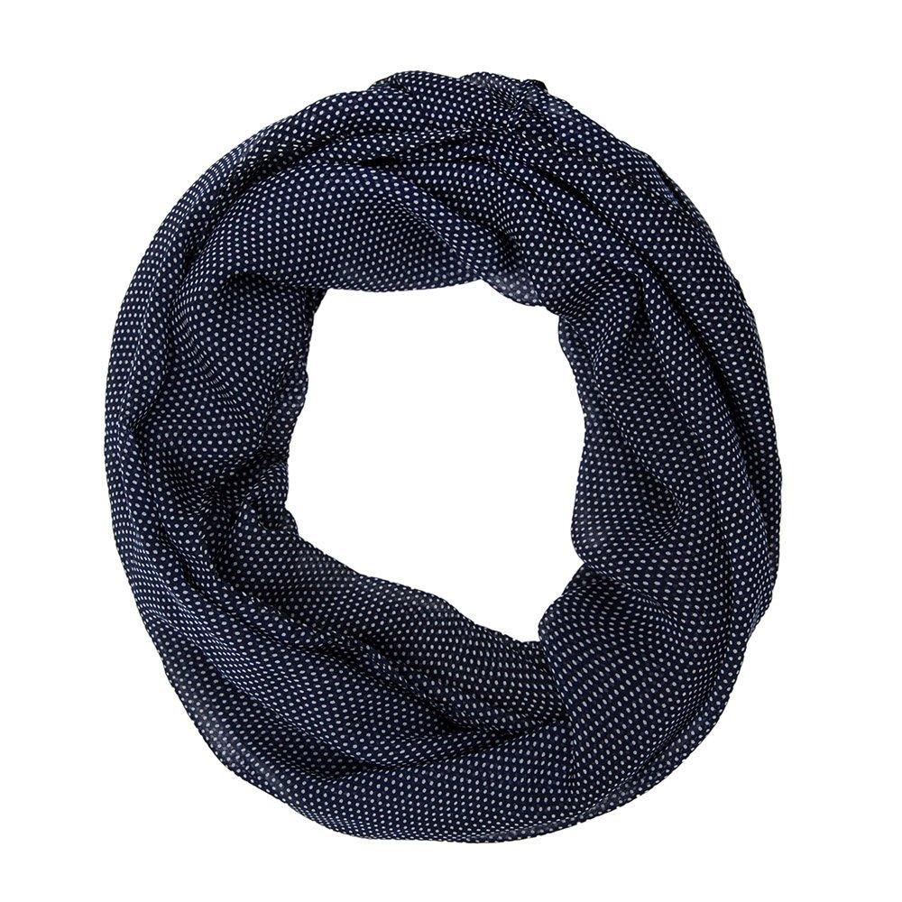 MANUMAR Loop-Schal für Damen   Hals-Tuch in verschiedenen Farben mit Punkte Motiv als perfektes Herbst Winter Accessoire   Schlauchschal   Damen-Schal   Rundschal   Geschenkidee für Frauen und Mädchen