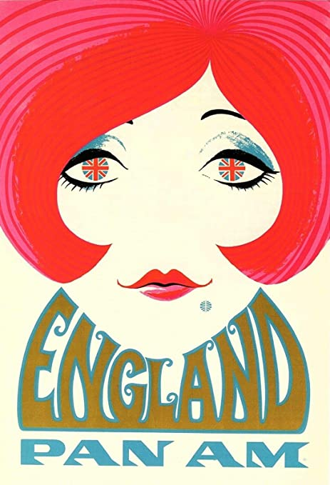 HALEY GAINES England Pan Placa Cartel Póster de Pared Metal ...