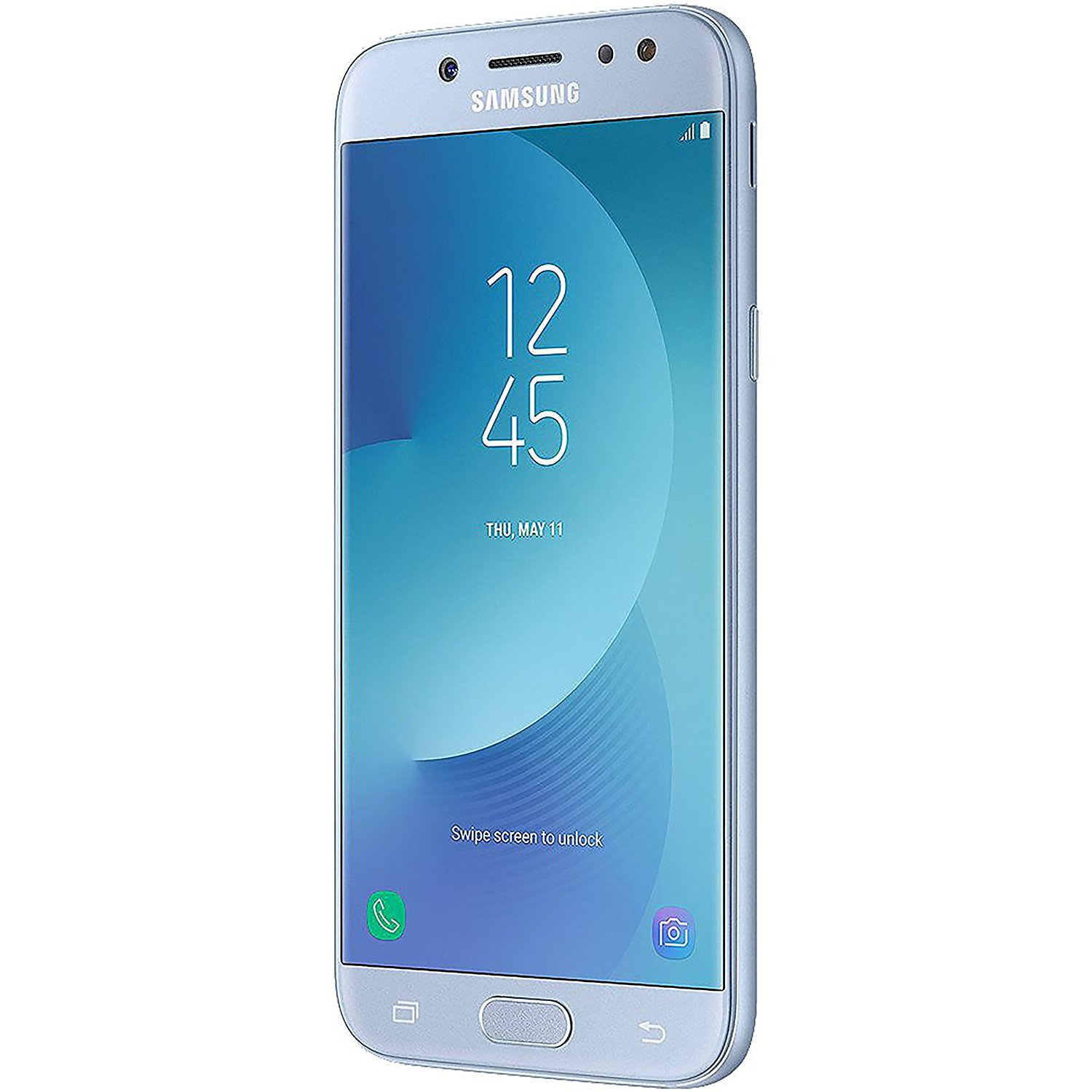 Samsung Galaxy J7 Pro (16GB) J730G - 5.5'' Full HD Unlocked Phone with Finger Print Sensor (US & Latin 4G LTE) (Blue Silver) by Samsung (Image #1)
