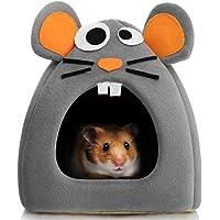 Hollypet Warm Small Pet Animals Bed Dutch Pig Hamster Cotton Nest Hedgehog Rat Chinchilla Guinea Habitat Mini House…